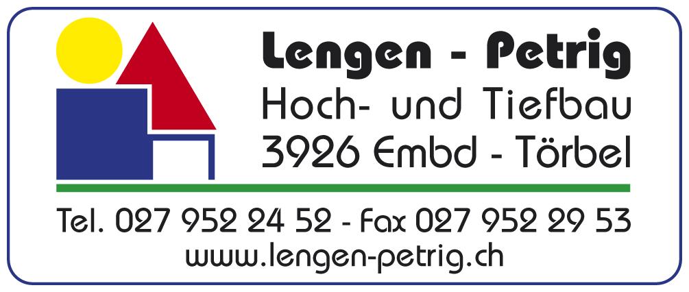 Logo Baufirma Lengen Petrig